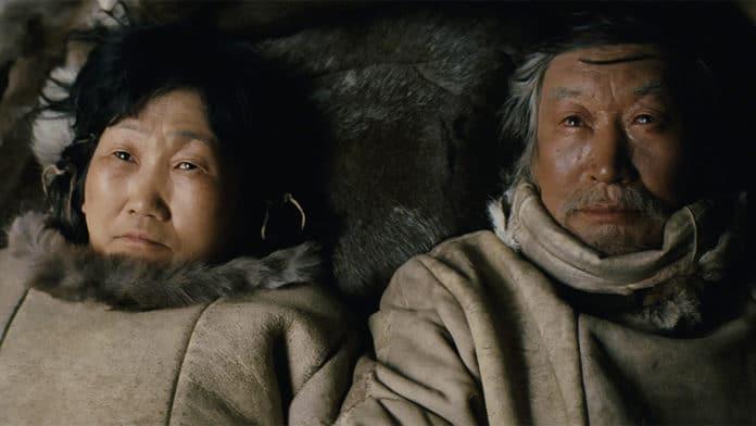 Scena del film Aga