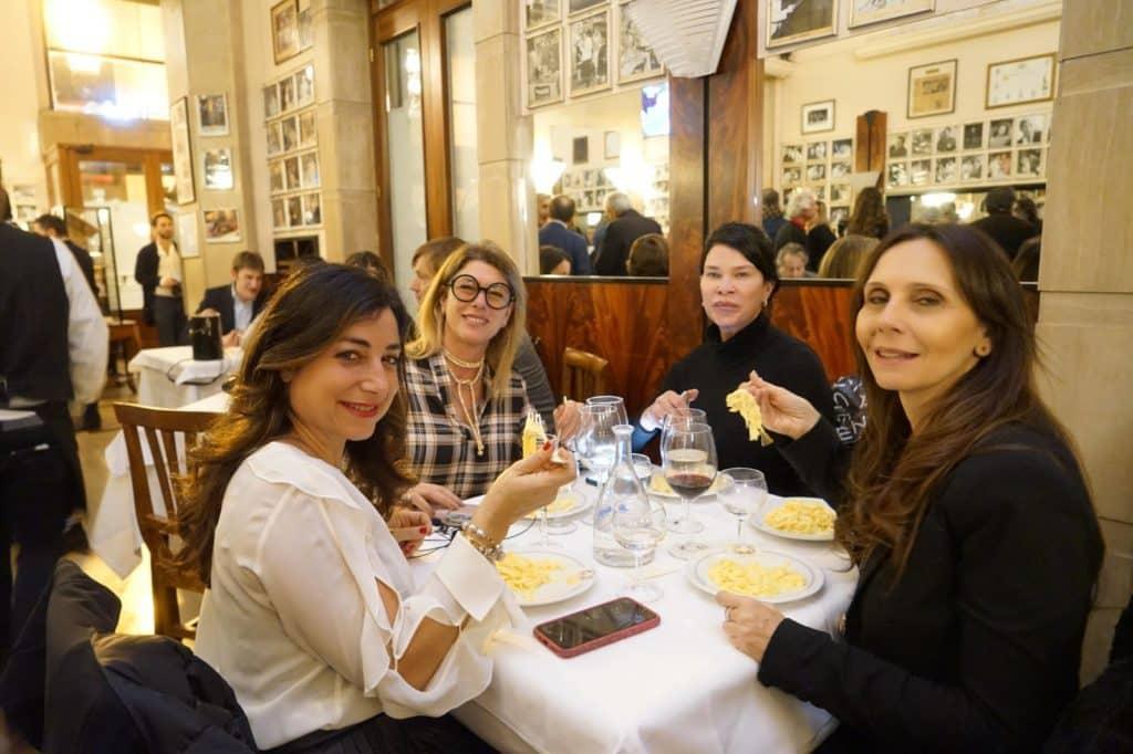 Da sx: Sofia Petti, Roberta Beta, Demetra Hampton e Elisa Caponetti