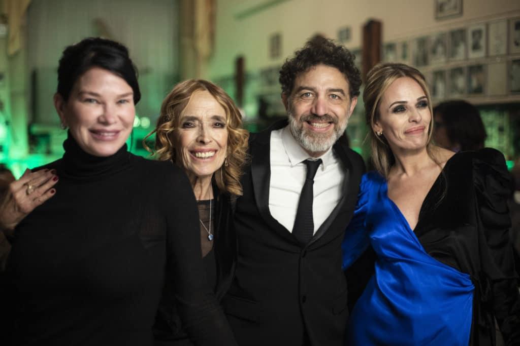Da sx: Demetra Hampton, Ines Di Lelio, Christian Marazziti, Chiara Cuomo