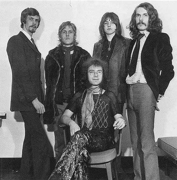 La formazione temporanea dei King Crimson in Cat Food