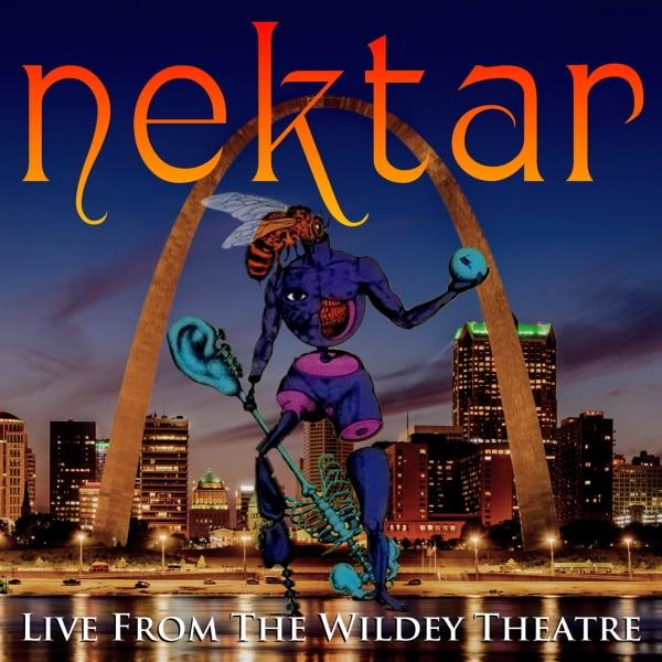 Nektar copertina album Live