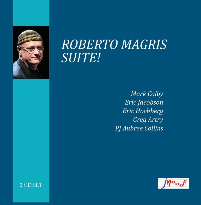 Copertina album Suite! Roberto Magris