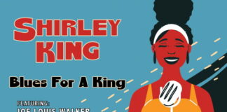 Copertina album Shirley King Daughter of the Blues