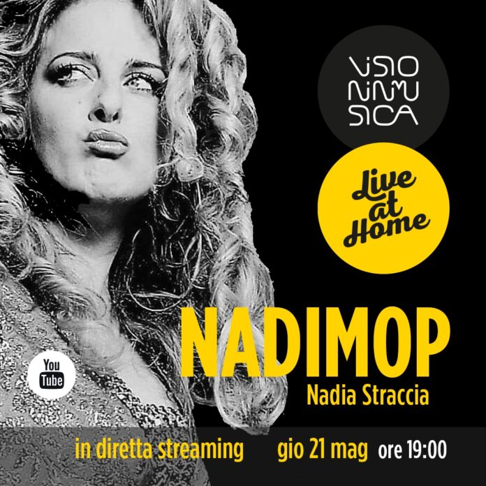 Locandina Nadimop Live at Home