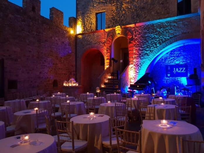 Scorcio di Jazz & Wine a Montalcino