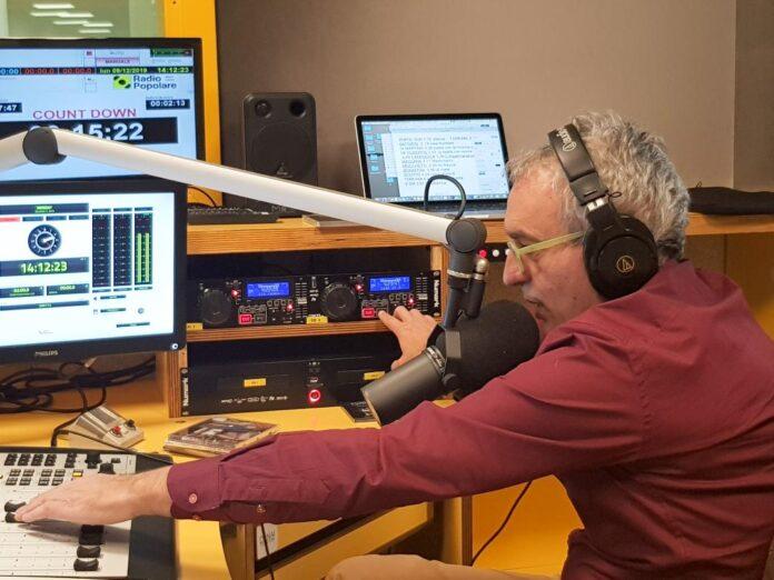 Giordano Casiraghi in trasmissione