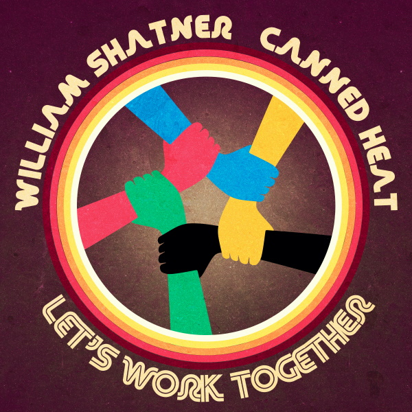 Copertina del singolo LET'S WORK TOGETHER