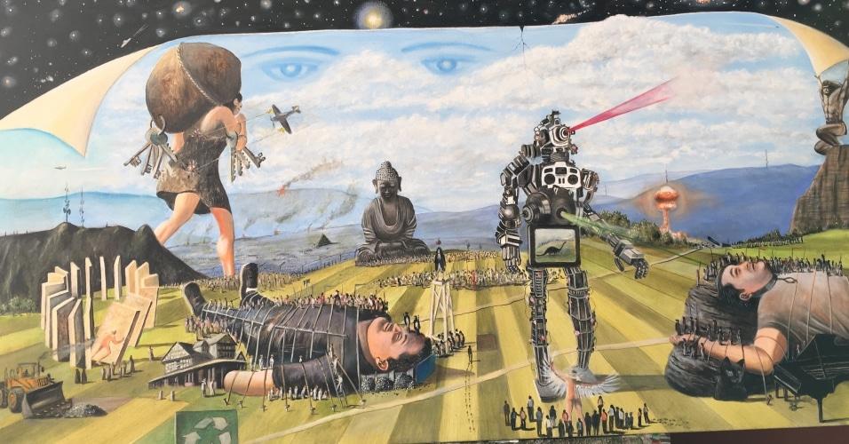 L'artwork esteso di GIANTS