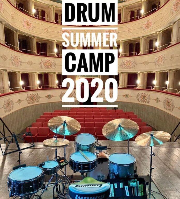 locandina _drum camp 2020