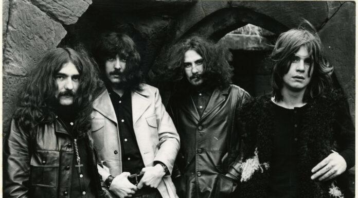 Black Sabbath foto celebrativa