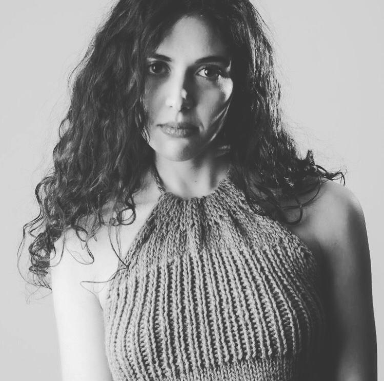 Olga Torrico in bianco e nero