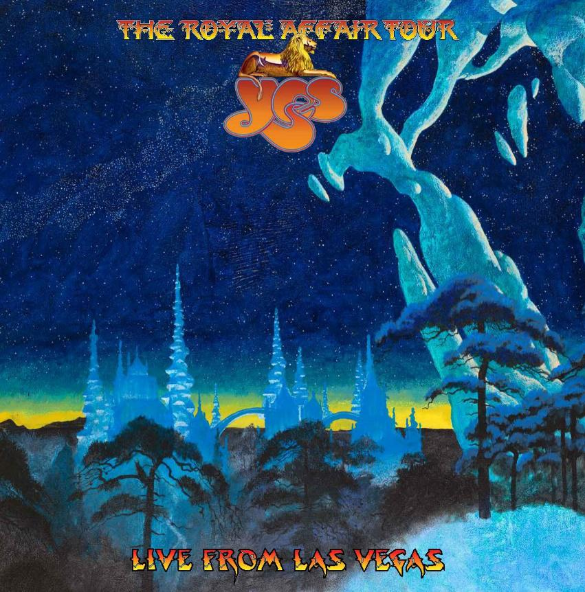 YES - Live From Las Vegas Copertina