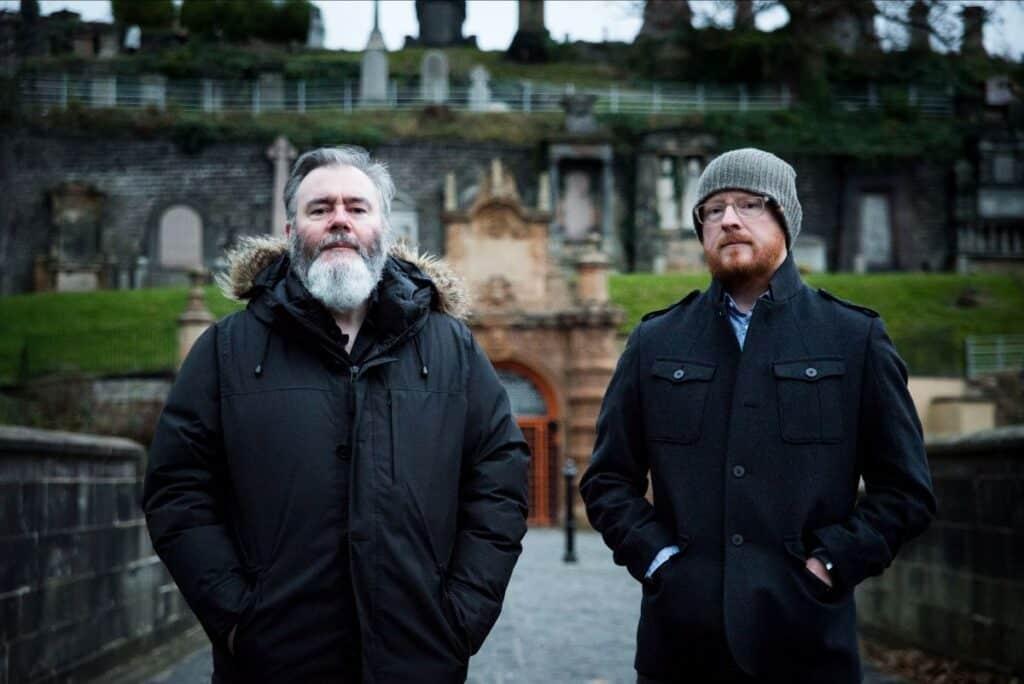 Aidan Moffat e Malcolm Middleton - Photo credit: Kat Gollock
