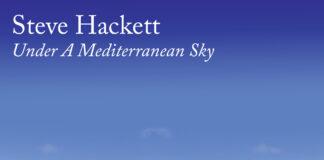 Steve Hackett Under A Mediterranean Sky Copertina Album