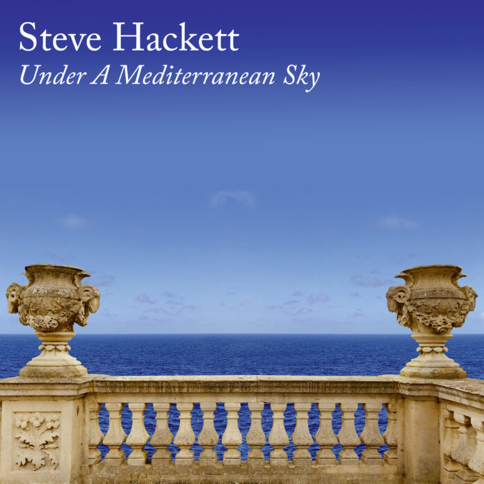 Steve Hackett Under A Mediterranean Sky Copertina Album