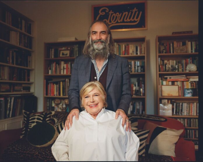 Marianne Faithfull & Warren Ellis - Photo credit Rosie Matheson