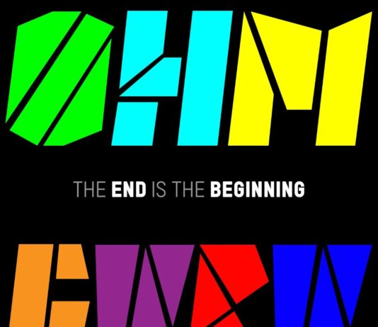 The end is the beginning- Copertina