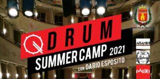 Drum Summer Camp locandina 2021